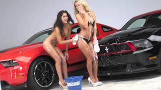 TEASER: Mustangs & AM Girls - The 2013 AmericanMuscle.com Calendar