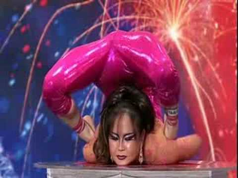 Iona Luvsandorj (contortionist)--Britain's got talent