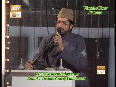 URDU NAAT(Karon Aqa)TASLEEM SABRI IN QTV.BY  Naat E Habib