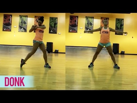 "Dance Fitness with Jessica - ""donk"""