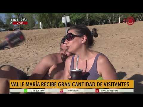 El balneario de Valle María, un destino elegido a orillas del Paraná