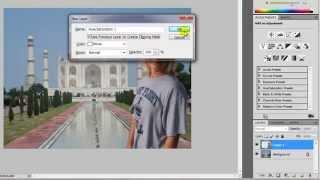 Photoshop CS5 - mudar fundo de uma foto