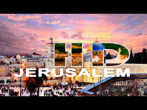 JERUSALEM - OLD CITY - 2010 WALKING TOUR - 1080P HD