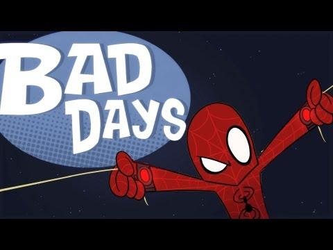 アメコミパロディカートゥーン「Bad Days」