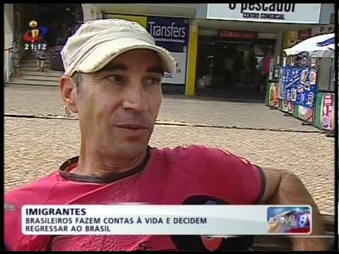 Portugal Falido!! Brasileiros voltam para o Brasil