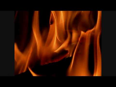 Fireplace slow motion flames zoomed EX-F1 300fps V07218