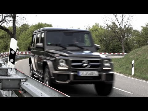 G63 AMG: Super Sports Utility - CHRIS HARRIS ON CARS
