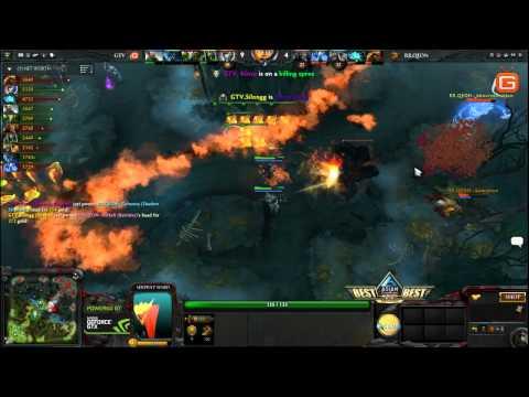 Dota2   RRQ vs GameTV ACG 1 3 2014