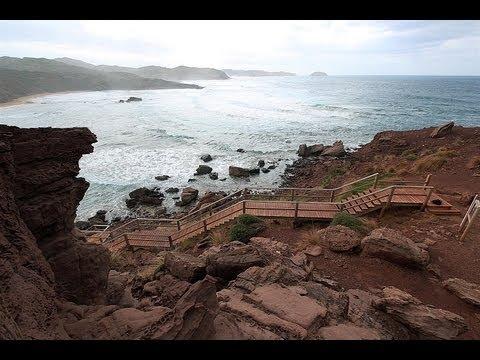 """Lugares Secretos de Menorca """"Playas de Cavallería"""" Parte I (Menorca's secret places)"""
