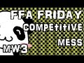 ffa friday || rambling rachh (sorry) || mw3 live commentary