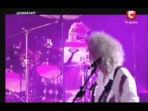 Crazy Little Thing Called Love - Adam Lambert - Queen - Kiev Ukraine