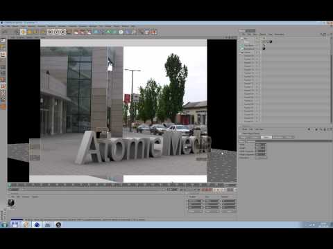 Tracking For SynthEyes and Cinema 4D and After Effects Tutorial Part.1.
