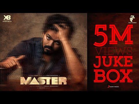 Master - Jukebox | Thalapathy Vijay | Anirudh Ravichander | Lokesh Kanagaraj