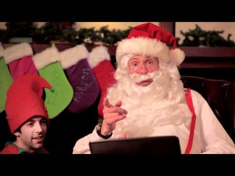 Santa's Google Search Tips Rap