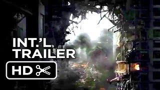 Godzilla Official International Trailer (2014) - Aaron Taylor-Johnson, Elizabeth Olsen Movie HD