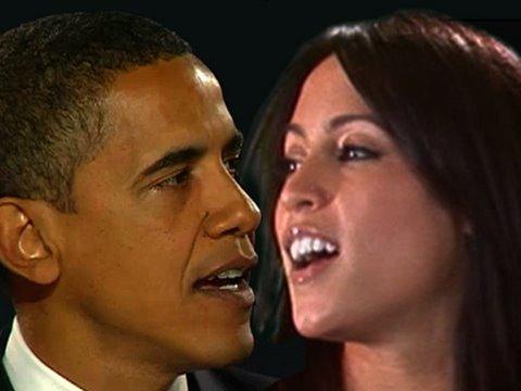 Obama Girl + Obama Duet!