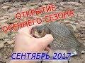 Первые осенние поклевки. Рыбалка сентябрь 2017