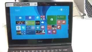 Vidéo : Prise en main Acer Switch 12