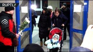 В Магнитогорске встретили спасённого при обрушении дома Ваню Фокина (16.02.2019 10:04)