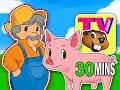 """Old MacDonald Had a Farm"" Nursery Rhyme | Busy Beavers TV Show Season 1 Ep. 5 | Kids Learning Video"