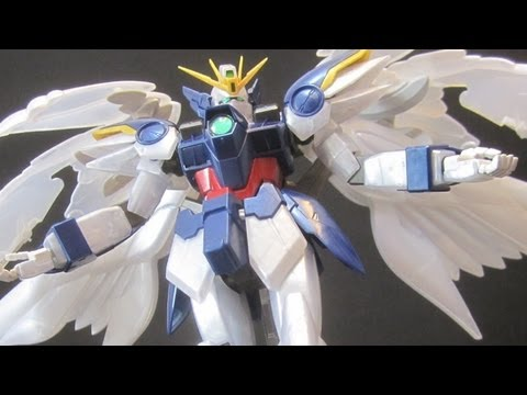 MG Wing Zero EW Pearl Gloss (Part 2: Parts) Wing Gundam Zero Custom Endless Waltz gunpla review