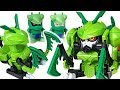 Bugs Ninja mantis, wasp, stag beetle insect transform mecha! Defeat the King cobra! Go! #DuDuPopTOY