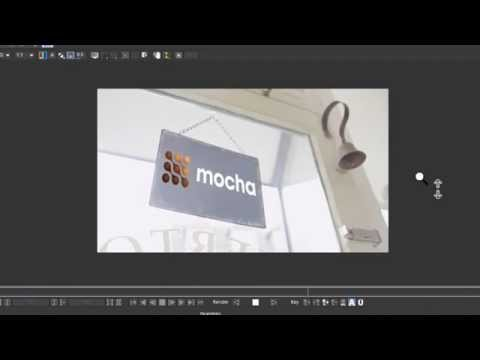 Tutorial: Sign Replacement with mocha Pro. Align Surface and insert Module