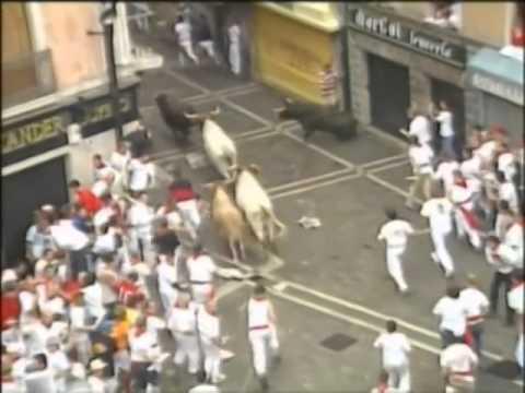 Encierro de San Fermín día 7 de Julio de 2003 480p