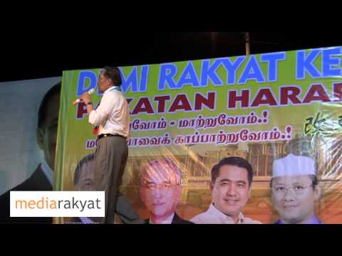 Anwar Ibrahim: Barisan Jeneral (B) Akan Bantu Pakatan Rakyat Ambil Alih Putrajaya Dengan Aman