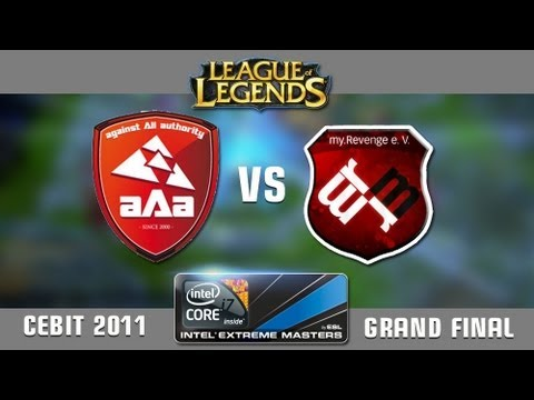 League of Legends Invitational Grand Final CeBIT 2011: aAa vs. MyRevenge