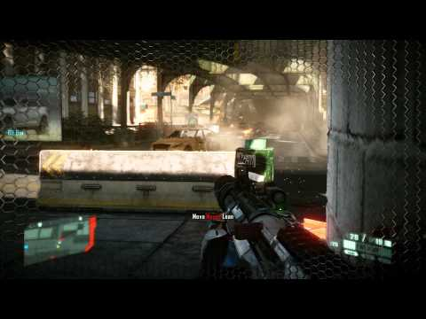 Crysis 2 Gameplay - Asus GTX 570 DC II SLI - DX11 Ultra High res textures