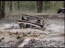 Jeep in Mud Hole Scuba Diving