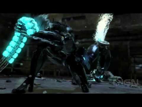 Metal Gear Solid Rising PS3 Trailer  2011