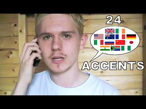 The English Language In 24 Accents