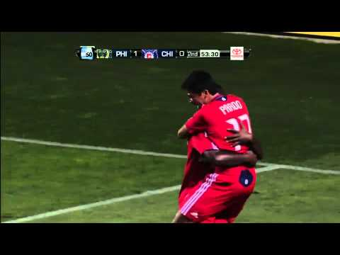 Chicago Fire - 07-30-11 - Pavel Pardo First MLS Goal