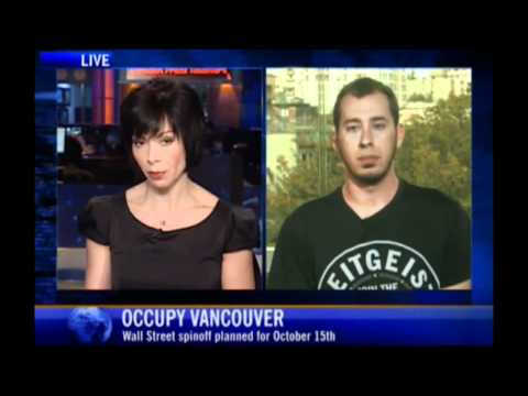 Occupy Vancouver / TZM on NATIONAL CANADIAN TELEVISION!! (CTV)  #occupyeverywhere