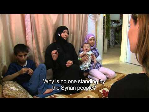 UNHCR - Jordan: Angelina Jolie in Conversation with Syrian Refugees