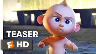 Incredibles 2 Teaser Trailer (2018) | 'Suit Up' | Movieclips Trailers
