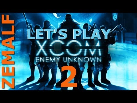 Let's Play XCOM: Enemy Unknown - Part 2 - Fading Dawn (Mission 2, Abduction)