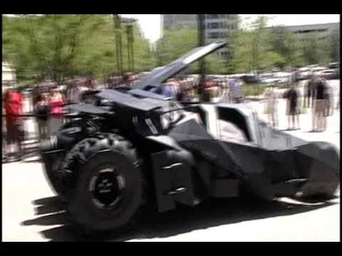 The Tumbler (batmobile) In Real Life