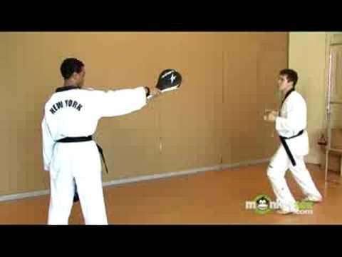 Kick Techniques Taekwondo Olympic Taekwondo Round Kick