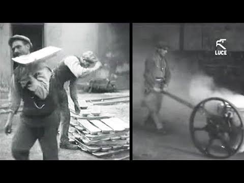 Sardegna - Miniere di Argento Piombo e Zinco a Iglesias / 1932 [Istituto LUCE]