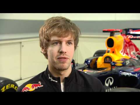 F1 2012 - Red Bull RB8 launch - Interview Sebastian Vettel -dGHMODGvWtU