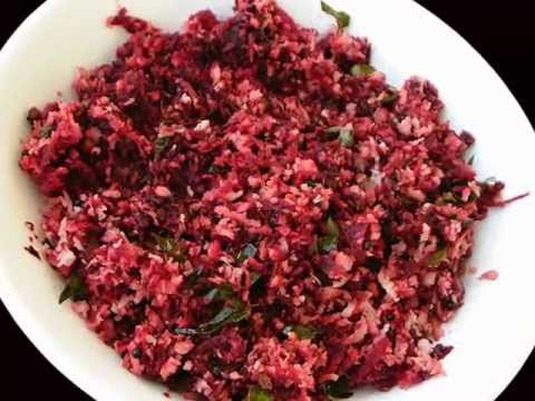 Beetroot Koora (Curry) - South Indian Recipes