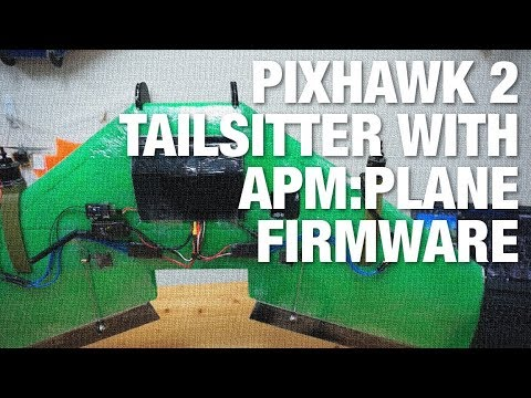 Pixhawk 2 Cube and SweepWings Flinch Tailsitter w/ APM:Plane Firmware - UC_LDtFt-RADAdI8zIW_ecbg