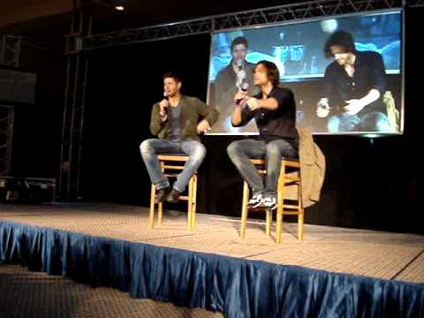 JIB2 Saturday Panel - Jared Padalecki & Jensen Ackles, Part 4