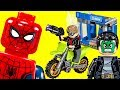 LEGO Spider-Man Homecoming ATM Heist Battle 76082 Marvel Review ????
