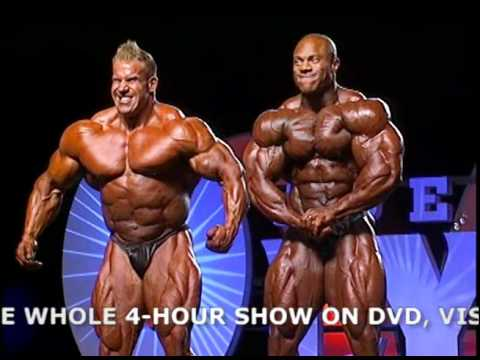 2011 Mr. Oylmpia final posedown! Jay Cutler & Phil Heath