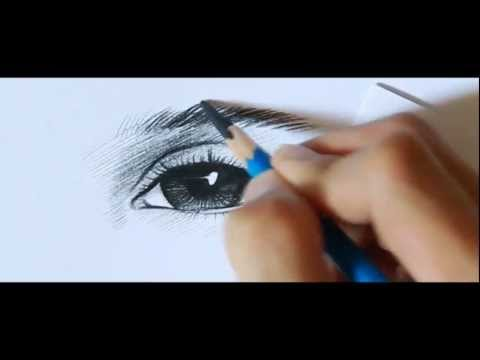 NipanArt:1: How To Draw Eye. (Realistic Eye)