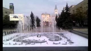 Цветной фонтан в Житомире превратился в джакузи с пеной